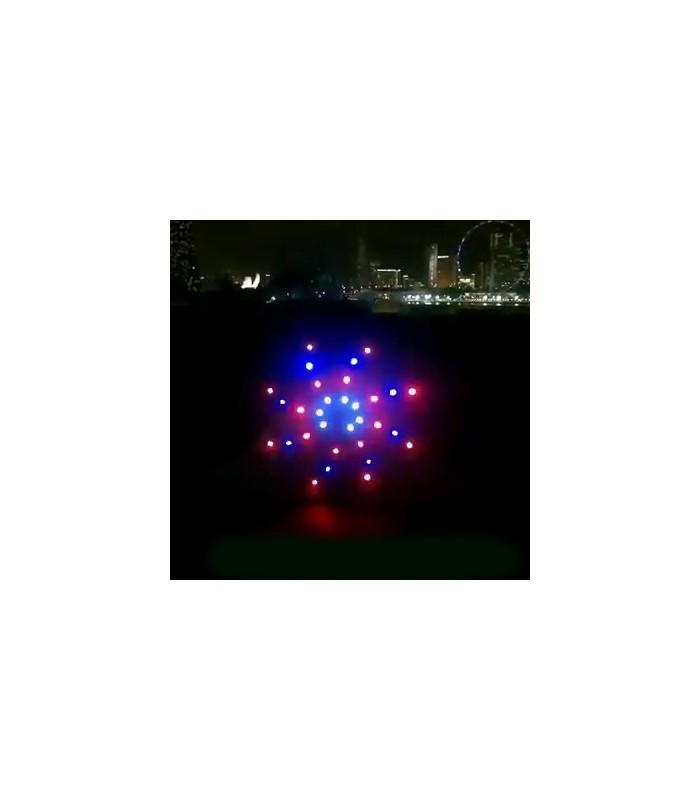2.8m Galatica 96 Led Night Kite