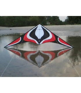 1.8m Albatross Whirlwind Stunt Kite (Red)