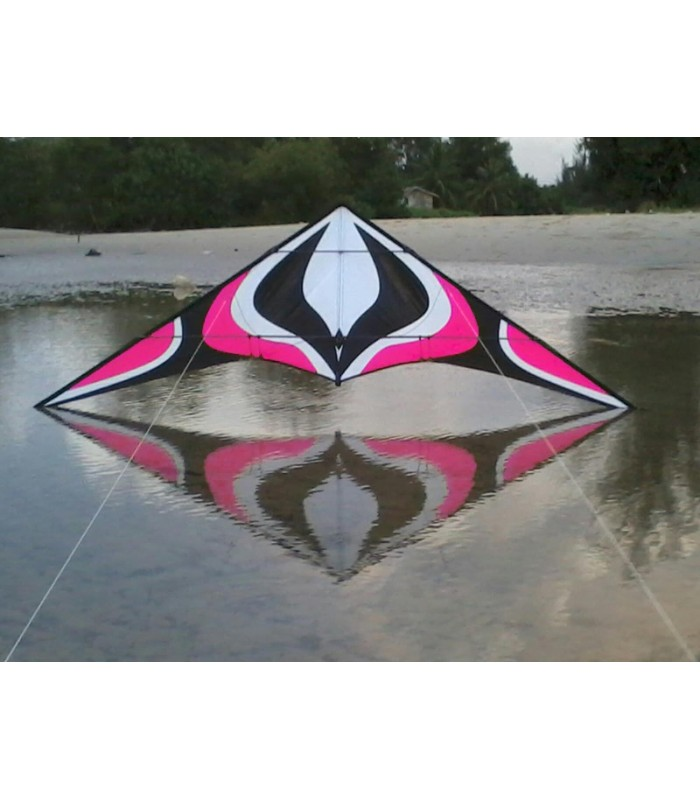 1.8m Albatross Whirlwind Stunt Kite (Pink)