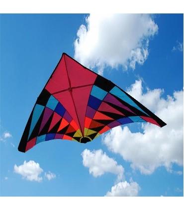 5m Giant Pink Rider Delta Kite
