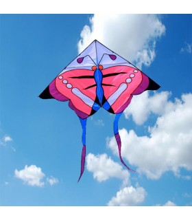 Pink Butterfly Kite