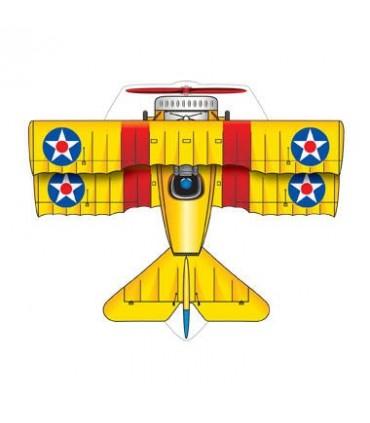 MircoKite Planes - BiPlane (Palm Size Minature Kites)