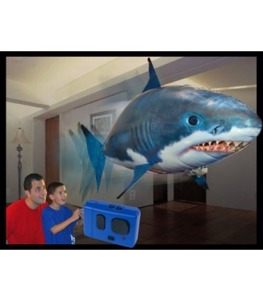 Remote Control Air Swimmer Flying Toy - Shark