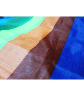 Fabric 190T Ripstop Polyester Rainbow /m