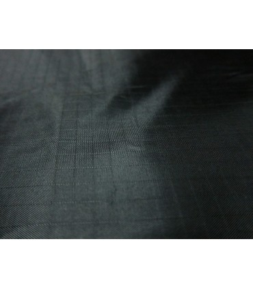 Fabric 210T Ripstop Polyester Black (per meter)