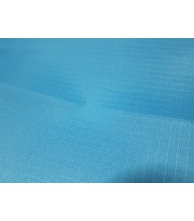 Fabric 210T Ripstop Polyester Sky Blue/m