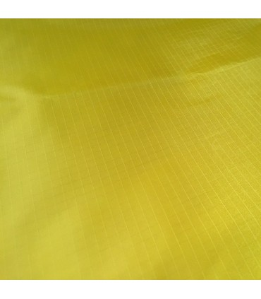 Fabric 210T Ripstop Polyester Yellow (per meter)