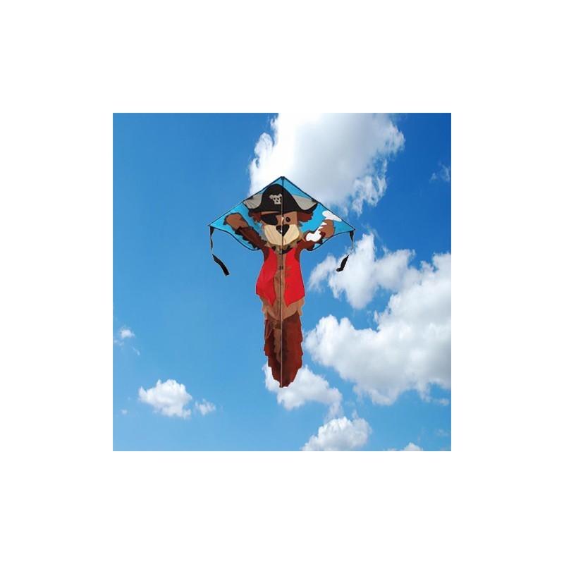 Pirate Dog Easy Flyer Kite