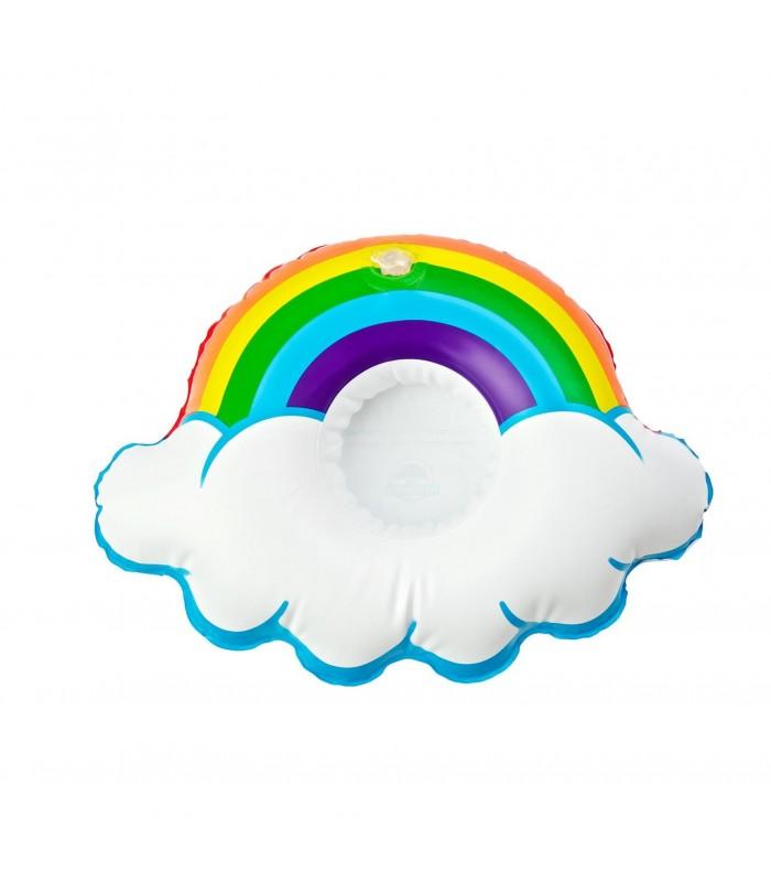 Rainbow drink float