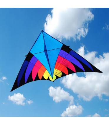 2.8m Giant Blue Rider Delta Kite