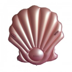 Rose gold shell float