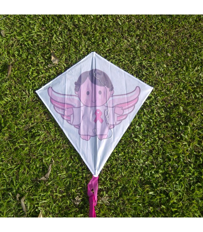 Pink Ribbon Kite