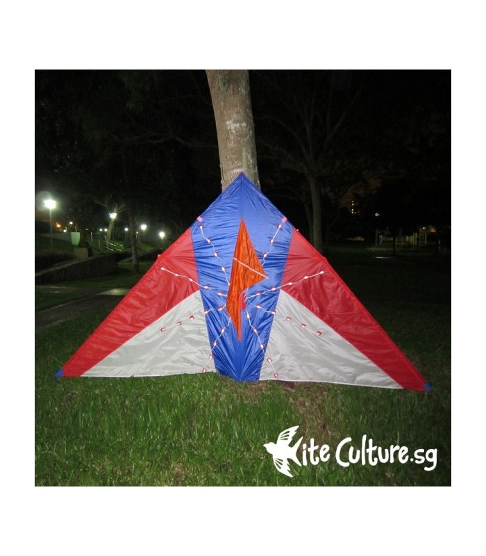 Illusion LED Night Kite 2.8m 80 Led