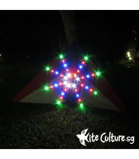 Illusion LED Night Kite 2.8m 80 Led