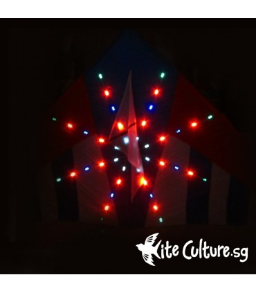 Star Glaze LED Night Kite 2.7m 80 Led