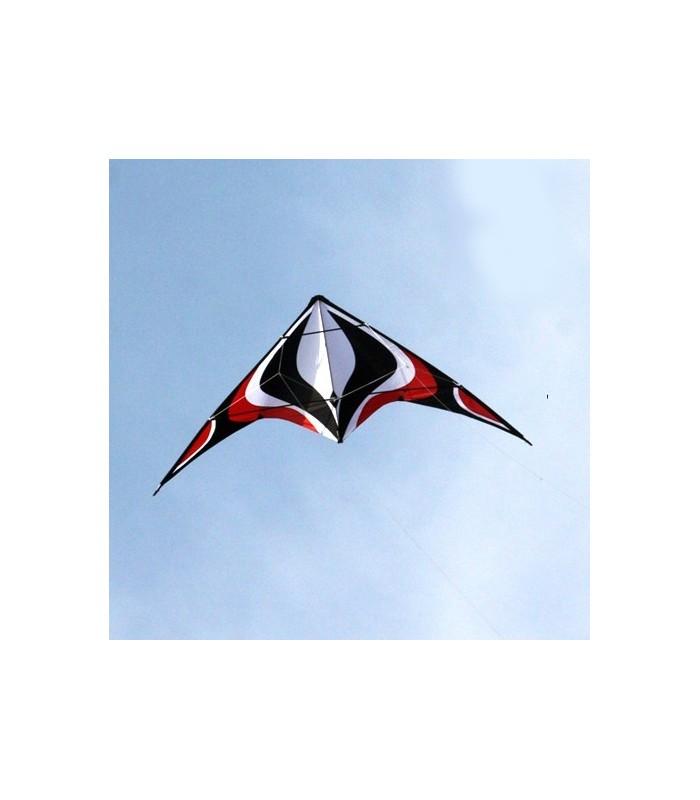 1.8m Albatross Whirlwind Stunt Kite (Red)