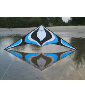 1.8m Albatross Whirlwind Stunt Kite (Blue)