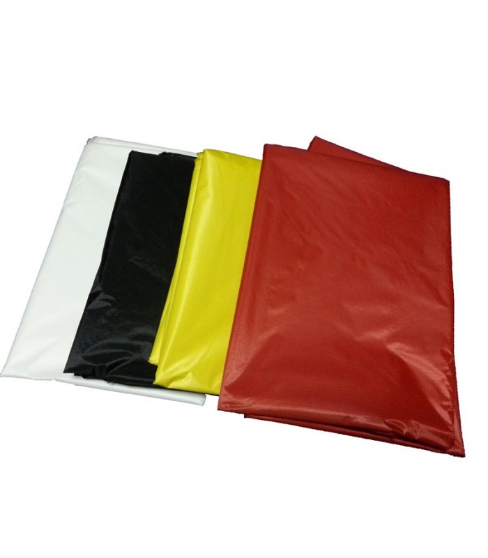40D 240T Silicone Coated Ripstop Nylon Fabric /m - Black