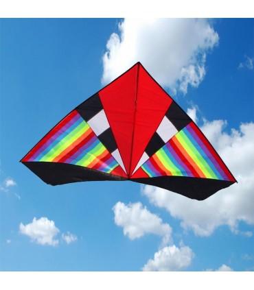 Giant Rainbow Delta Kite