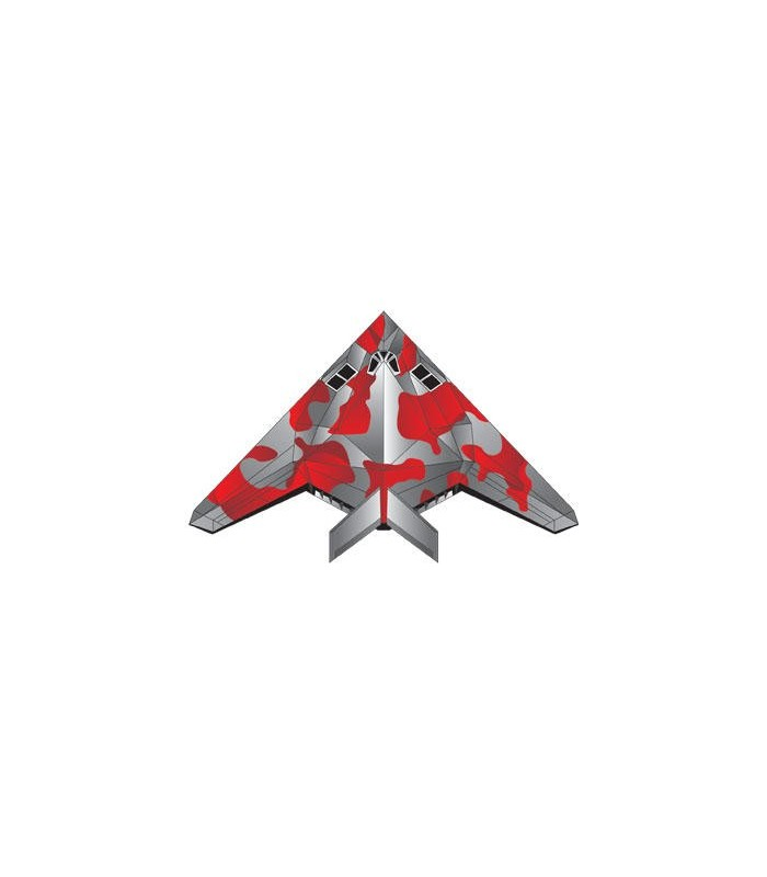 MircoKite Planes - Stealth (Palm Size Minature Kites)