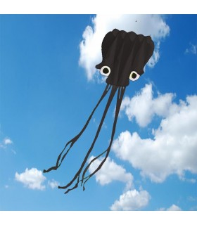 5m Octopus Soft Kite - Black
