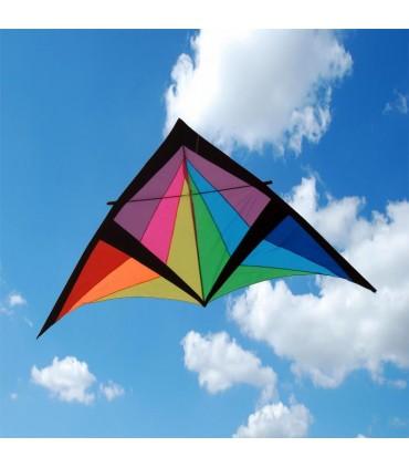 2.8m Black Prism Giant Delta Kite