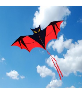 Red Vampire Bat Kite