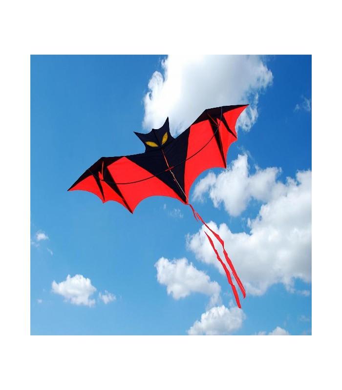 Red Vampire Bat Kite