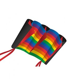 Xkites WindFoil Rainbow Stripes Kite