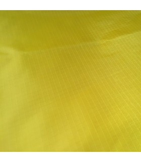 Fabric 190T Ripstop Polyester Yellow/m