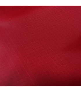 Fabric 210T Ripstop Polyester Red (per meter)