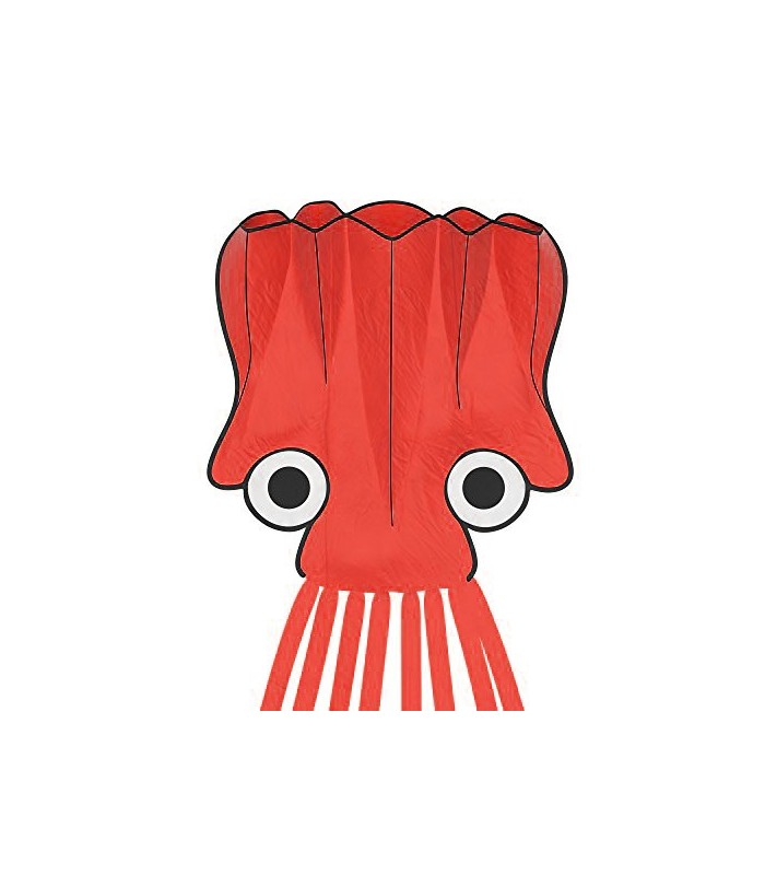 5m Octopus Soft Kite - RED