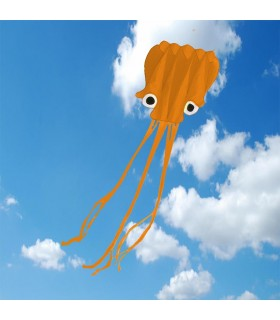 5m Octopus Soft Kite - ORANGE