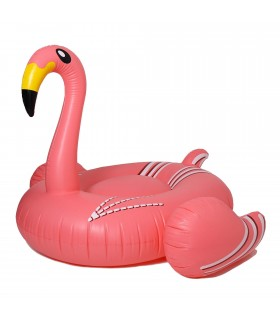 Thin neck flamingo float