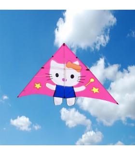 Hello Kitty Delta Kite Pink