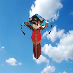 Pirate Dog Easy Flyer Kite