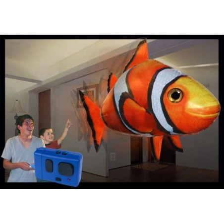 Remote Control Air Swimmer Flying Toy - Clownfish