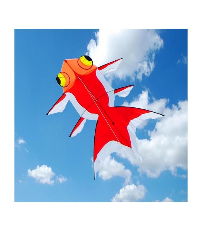 Goldfish Kite Orange