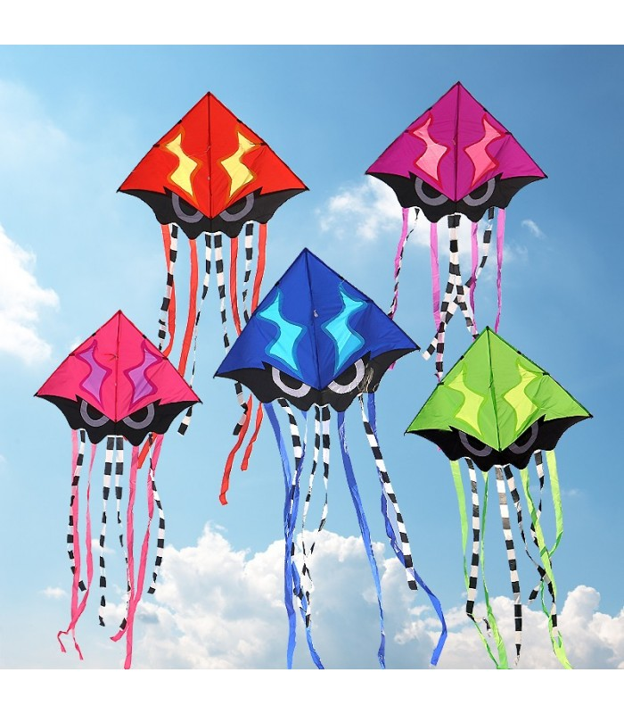 Angry Squid Kite