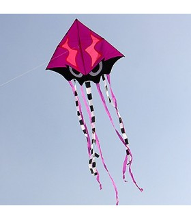 Angry Squid Kite - Purple