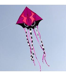 Angry Squid Kite - Purple