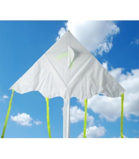 Draw-it-yourself Large DIY 1.8m Easy Flyer Delta Kite