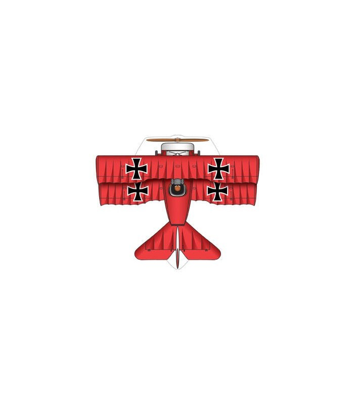 MircoKite Planes - Red Baron (Palm Size Minature Kites)