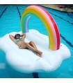 Rainbow Cloud Daybed Float