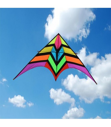 2.8m Giant Rainbow Fighter Delta Kite