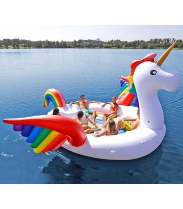 6-Seater Party Island Unicorn Float
