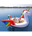 6-Seater Party Island Unicorn Float