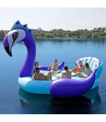 6-Seater Party Island Peacock Float