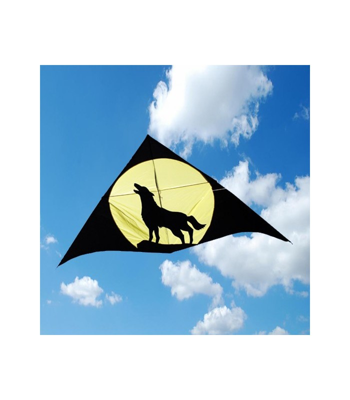 3m Howling Wolf Delta Kite