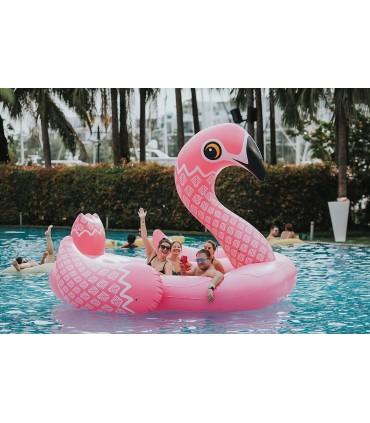 6-Seater Party Island Flamingo Float